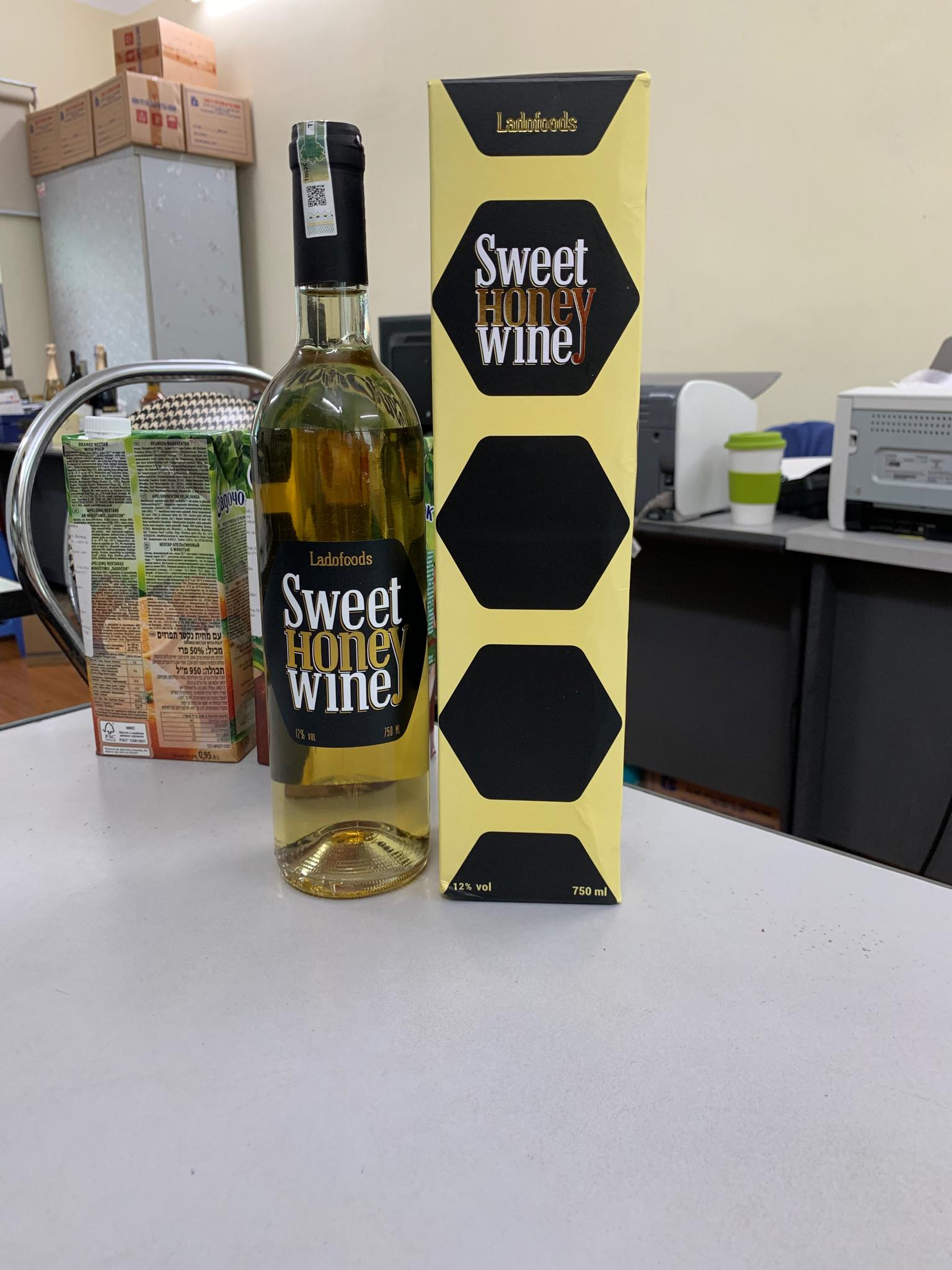 Vang ngọt mật ong SWEET HONEY WINE