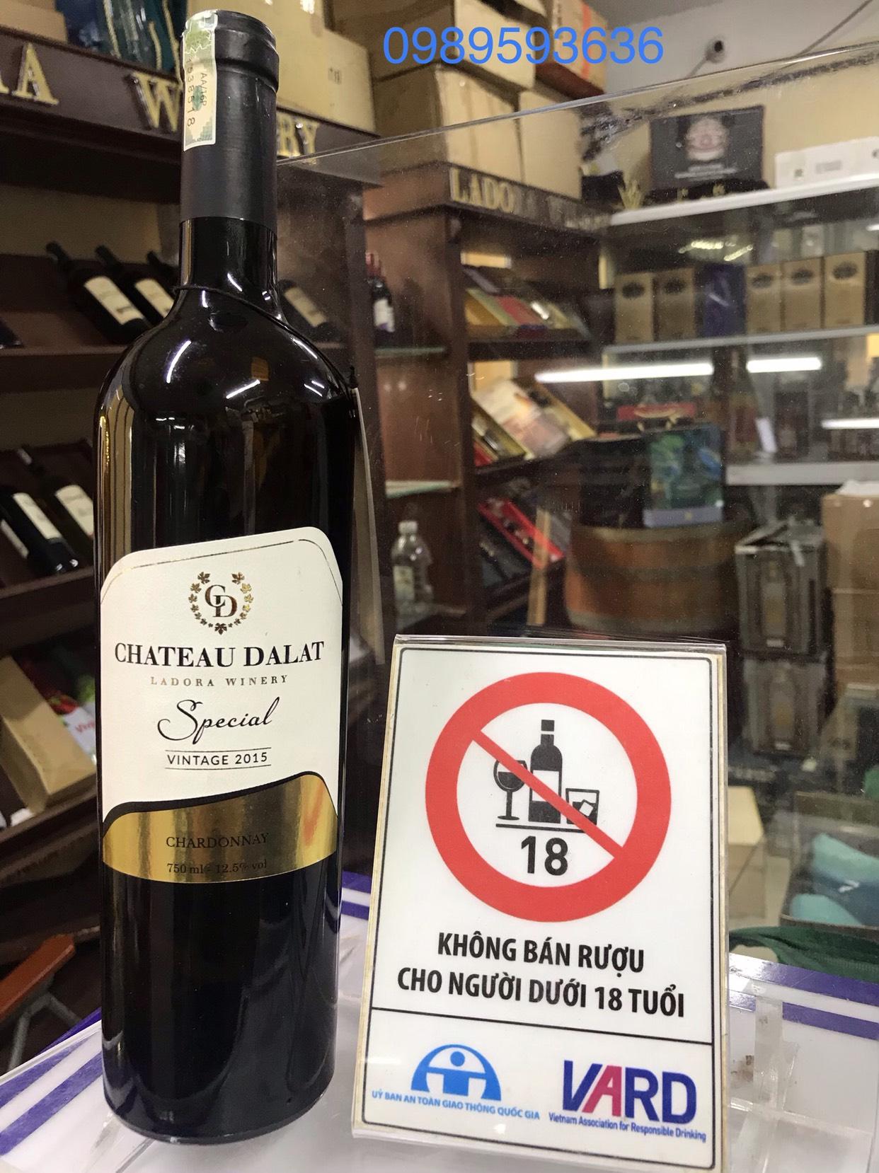 R??u Chateau Dalat Special �C Cabernet Sauvignon